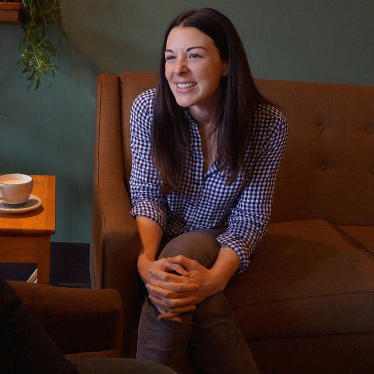 Writer Lisa Reit